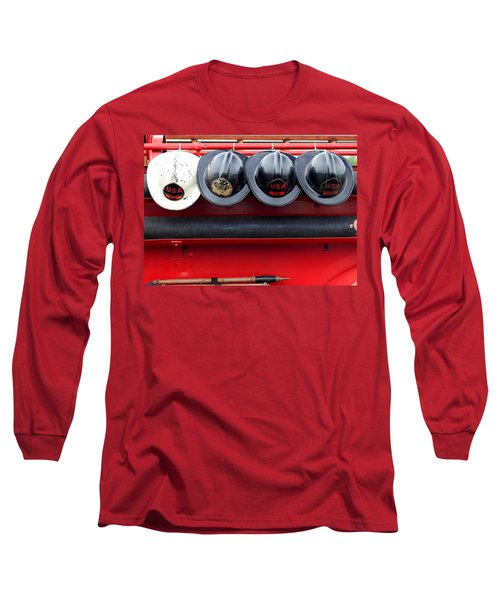 Fire Department Of The Usa Long Sleeve T-Shirt