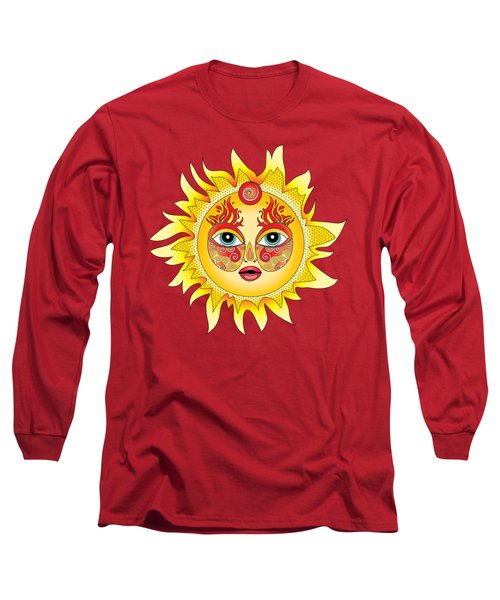 Fire Element Long Sleeve T-Shirt by Serena King