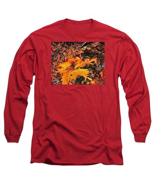 Fire Long Sleeve T-Shirt by John Bushnell