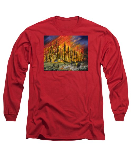 Fire Line 1 Long Sleeve T-Shirt