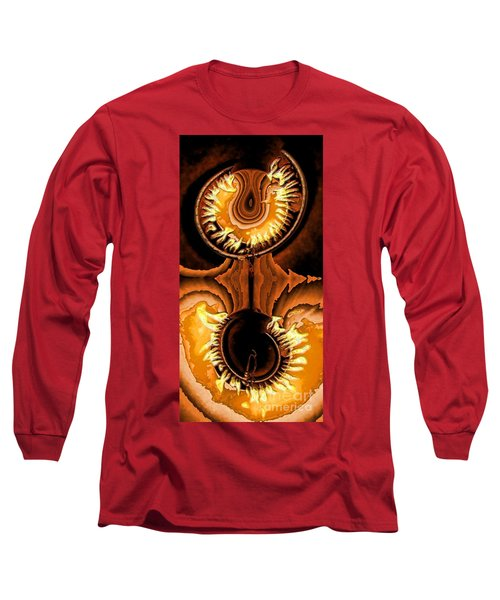 Fired Up Long Sleeve T-Shirt by Ron Bissett
