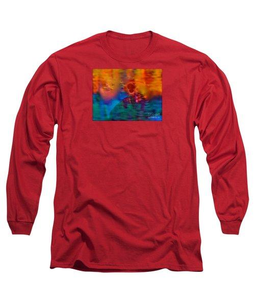 Firewall Berries Long Sleeve T-Shirt by Patricia Schneider Mitchell