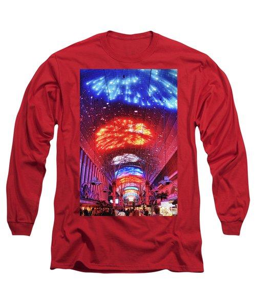 Fireworks Display In Las Vegas Long Sleeve T-Shirt