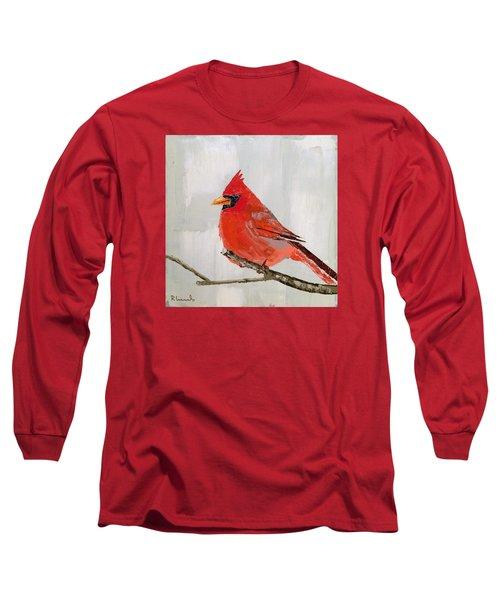 Firey Red Long Sleeve T-Shirt