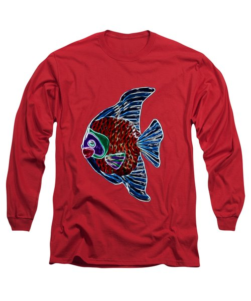 Fish In Water Long Sleeve T-Shirt by Shane Bechler