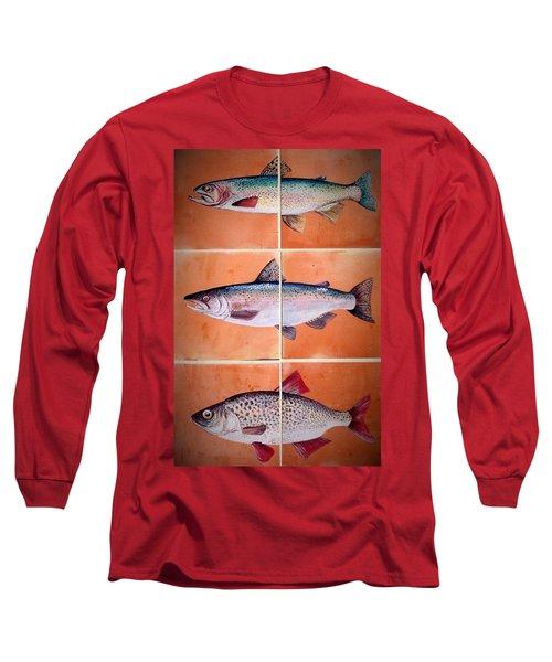 Fish Mural Long Sleeve T-Shirt