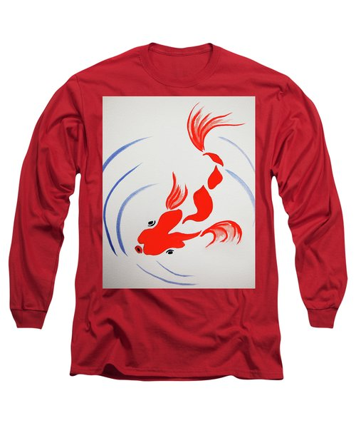Fish Swish Long Sleeve T-Shirt