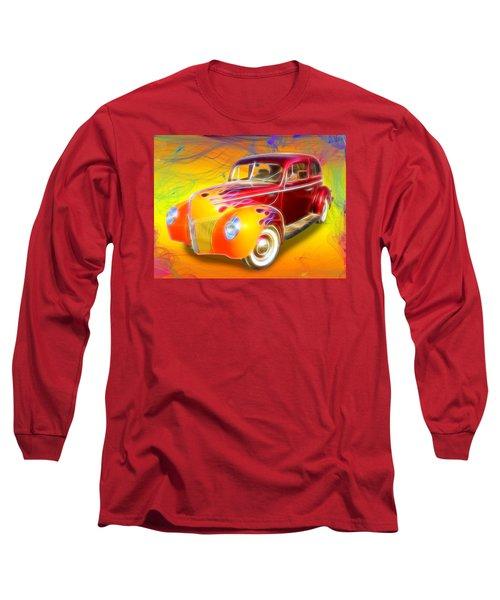 Flamin' '40 Long Sleeve T-Shirt