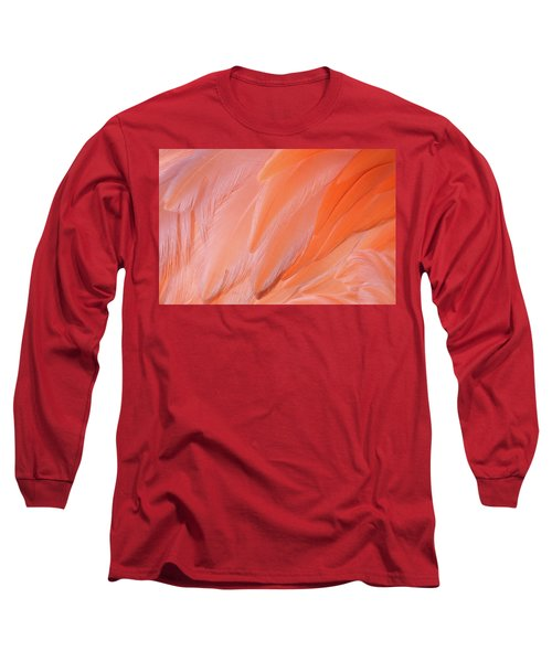 Long Sleeve T-Shirt featuring the photograph Flamingo Flow 4 by Michael Hubley