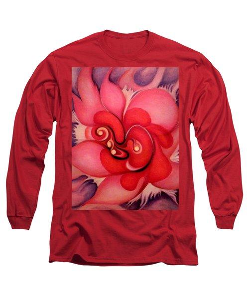 Floral Energies Long Sleeve T-Shirt by Jordana Sands
