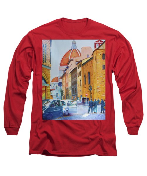 Florence Going To The Duomo Long Sleeve T-Shirt