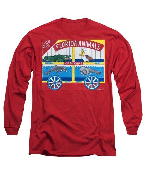 Florida Animal Crackers Long Sleeve T-Shirt