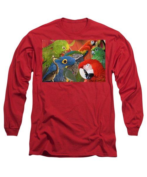 Florida Birds Long Sleeve T-Shirt
