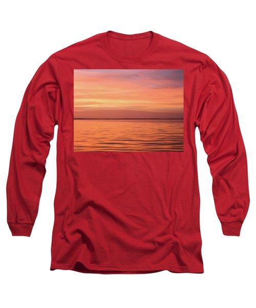 Florida Keys Sunset Impressions Long Sleeve T-Shirt