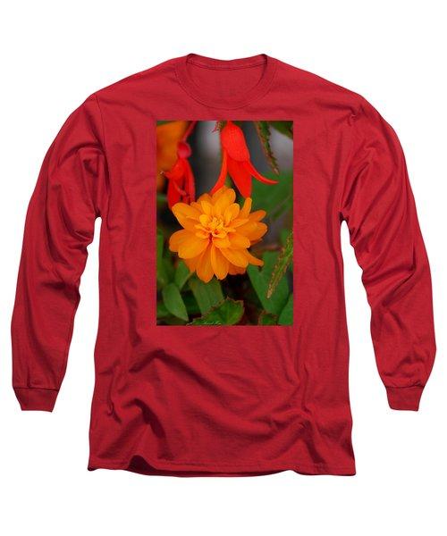 Long Sleeve T-Shirt featuring the photograph Flower by Bernd Hau