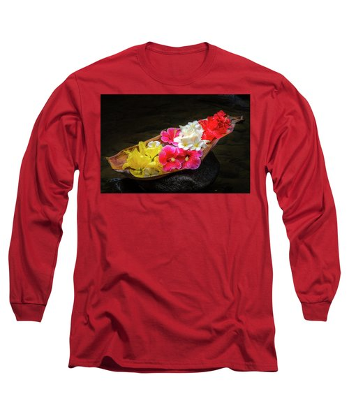 Flower Boat Long Sleeve T-Shirt