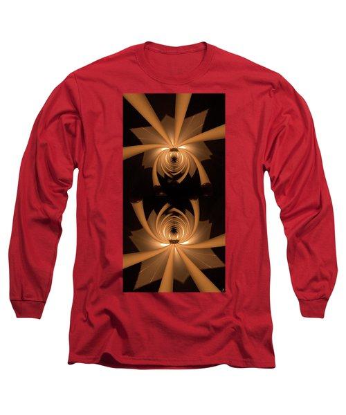 Flower Light Long Sleeve T-Shirt by Ron Bissett
