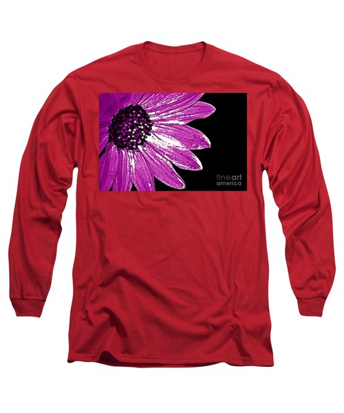 Long Sleeve T-Shirt featuring the photograph Flower Power  by Juls Adams