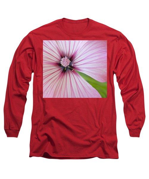 Long Sleeve T-Shirt featuring the photograph Flower Star by Elvira Butler