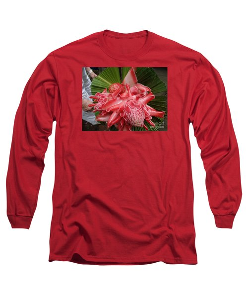 Flowering Coconiut Sao Tome Long Sleeve T-Shirt
