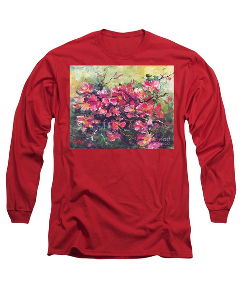 Flowering Quince Long Sleeve T-Shirt