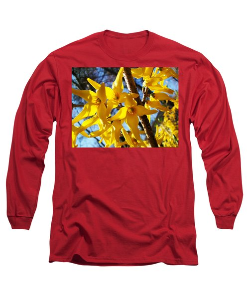 Flowers Of The Sky Long Sleeve T-Shirt