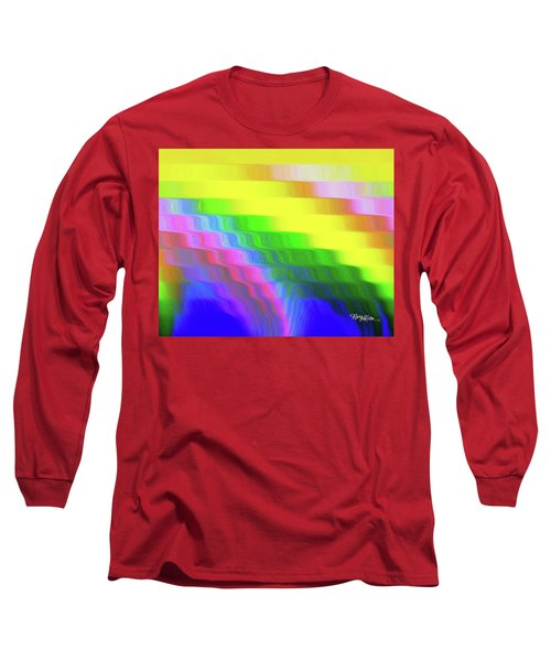 Flowing Whimsical #113 Long Sleeve T-Shirt by Barbara Tristan