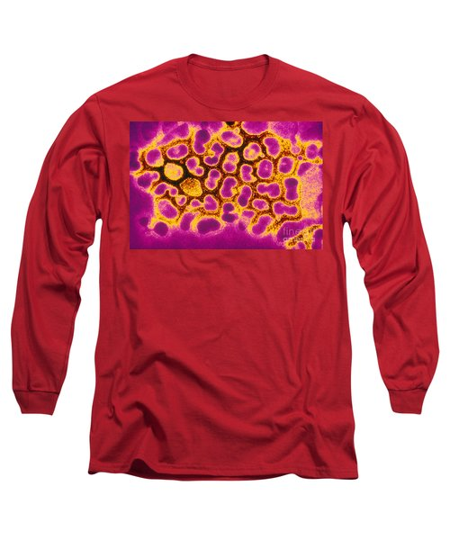 Flu Virus Tem Long Sleeve T-Shirt