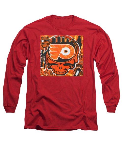 Flyer Love Long Sleeve T-Shirt by Kevin J Cooper Artwork