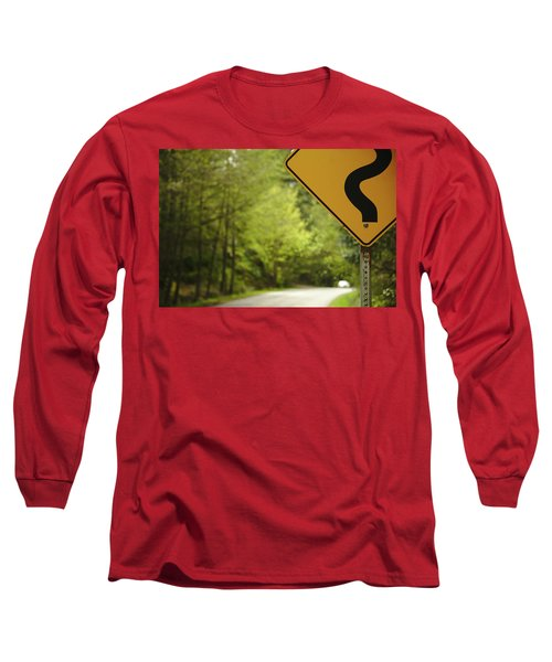 Long Sleeve T-Shirt featuring the photograph Follow The Sign by Cendrine Marrouat