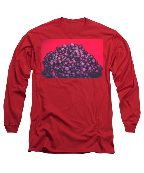 For The Love Of Berries Long Sleeve T-Shirt