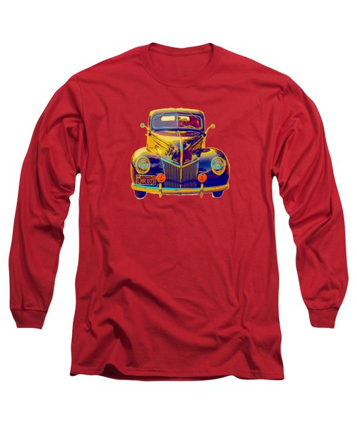 Ford Deluxe Coupe Transfer Long Sleeve T-Shirt