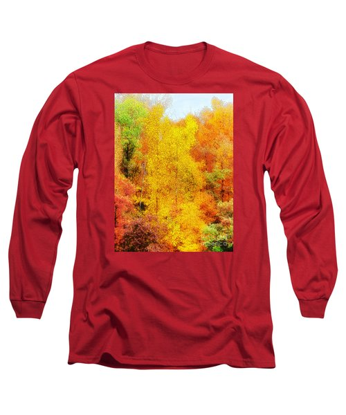 Forest Fire Long Sleeve T-Shirt by Craig Walters