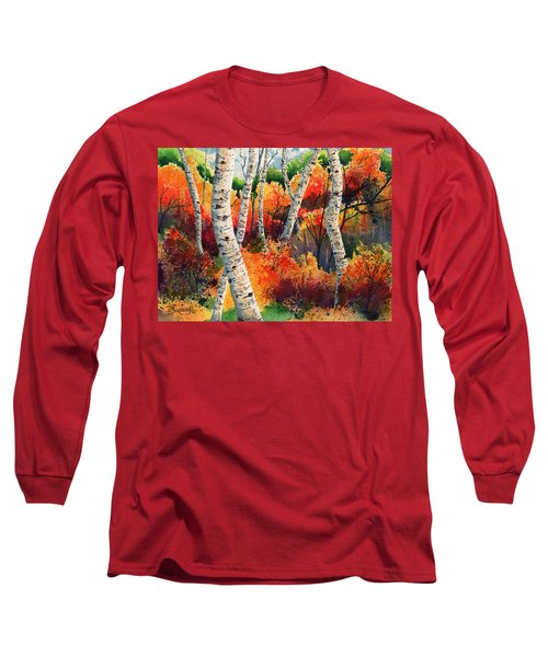 Forest In Color Long Sleeve T-Shirt