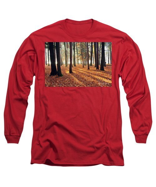 Forest Shadows Long Sleeve T-Shirt