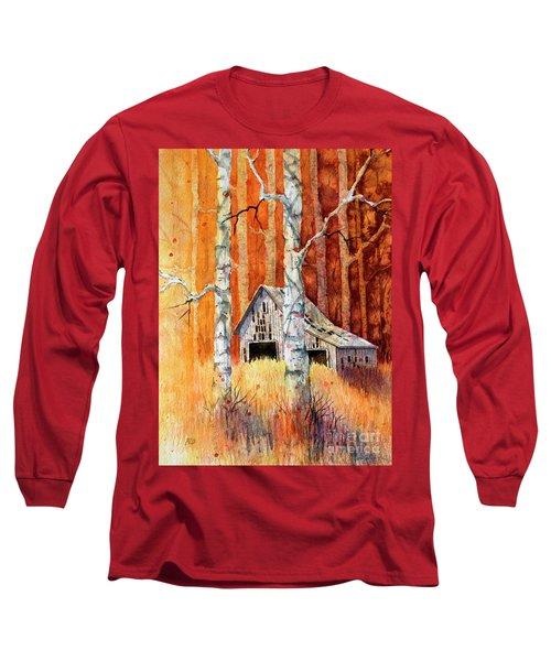 Forgotten In The Aspens Long Sleeve T-Shirt