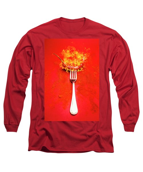 Forking Hot Food Long Sleeve T-Shirt