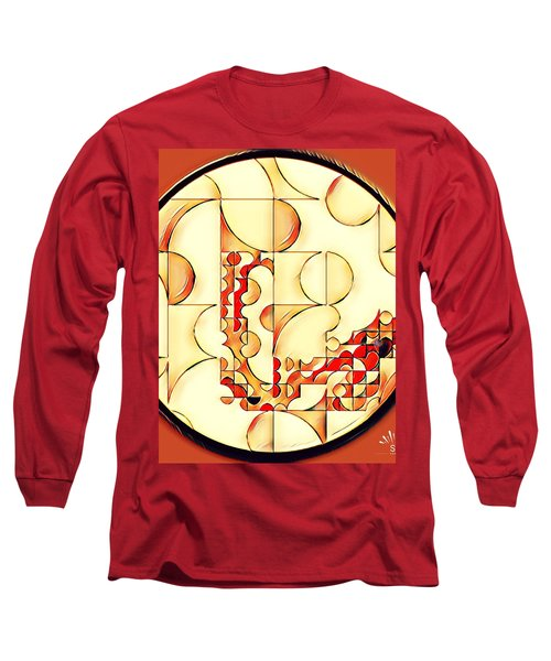 Four Circle Turn Long Sleeve T-Shirt