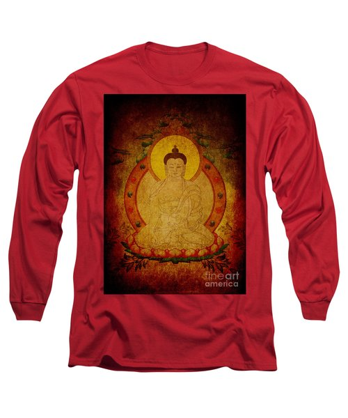 Fragmentary Thangka Long Sleeve T-Shirt
