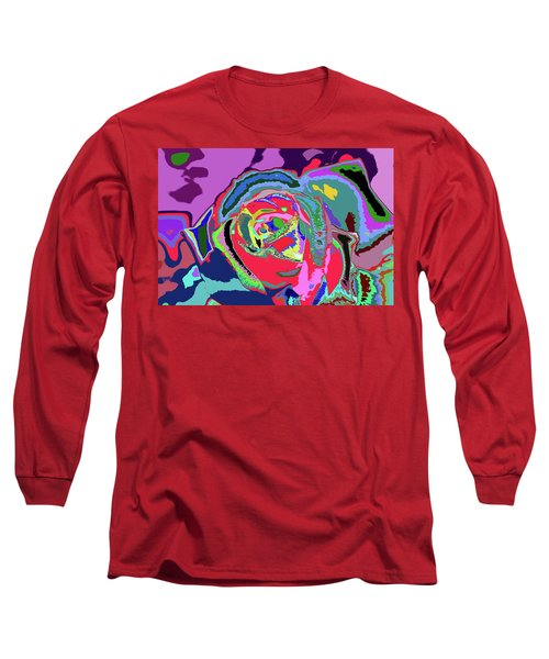 Fragrance Of Color  Long Sleeve T-Shirt