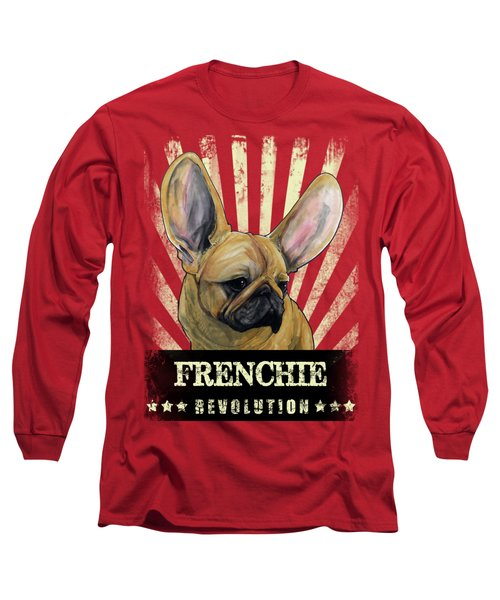 Frenchie Revolution Long Sleeve T-Shirt