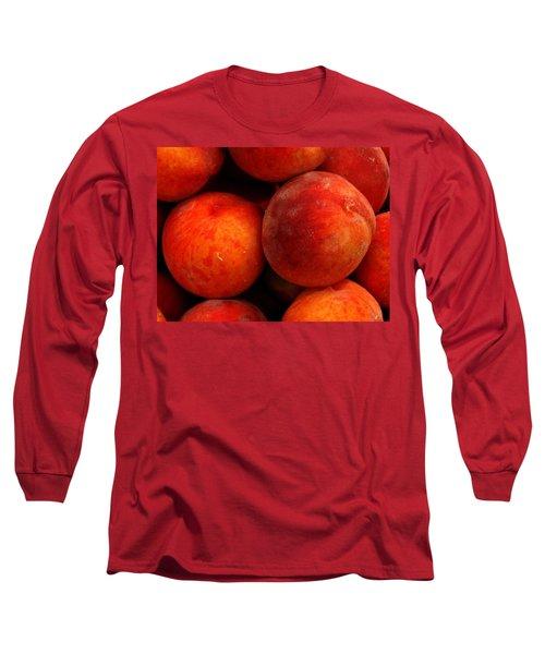 Fresh Fuzzy Peaches Long Sleeve T-Shirt