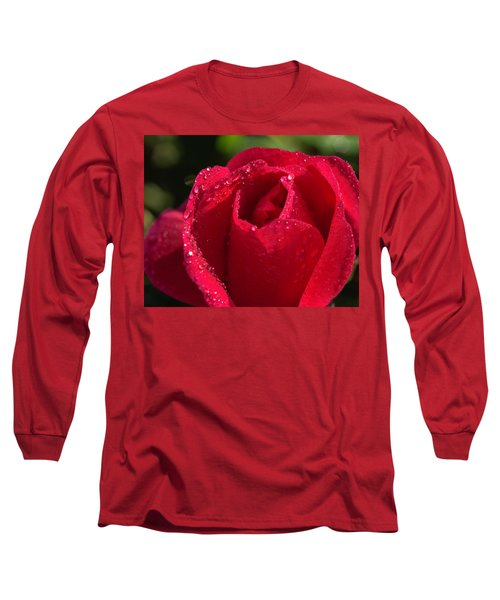 Fresh Rose Long Sleeve T-Shirt