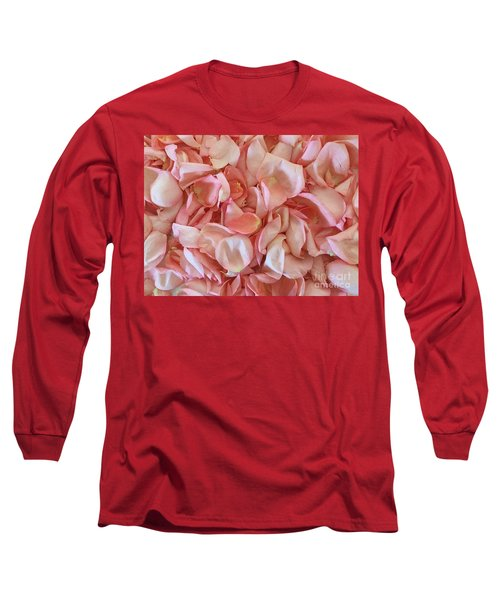 Fresh Rose Petals Long Sleeve T-Shirt