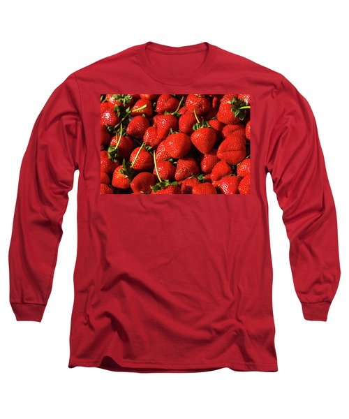 Fresh Strawberries Long Sleeve T-Shirt