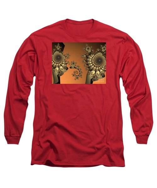 Long Sleeve T-Shirt featuring the digital art Frog King by Karin Kuhlmann
