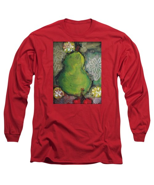 Fruits And Flowers Long Sleeve T-Shirt