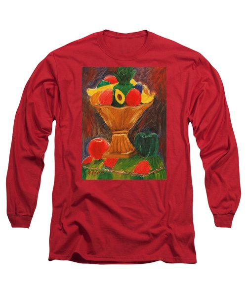 Fruits Still Life Long Sleeve T-Shirt