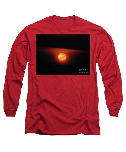 Full Harvest Moon Long Sleeve T-Shirt