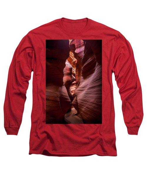 Long Sleeve T-Shirt featuring the photograph Further In The Canyon by Jon Glaser